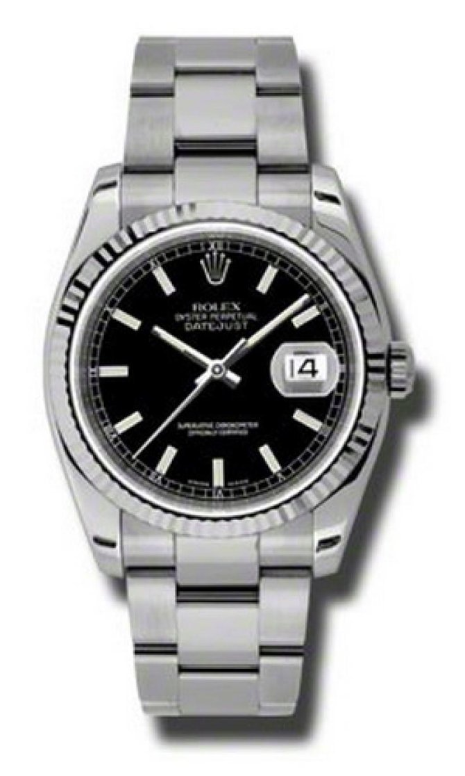 Rolex 116234 bkso Datejust Steel - фото 1