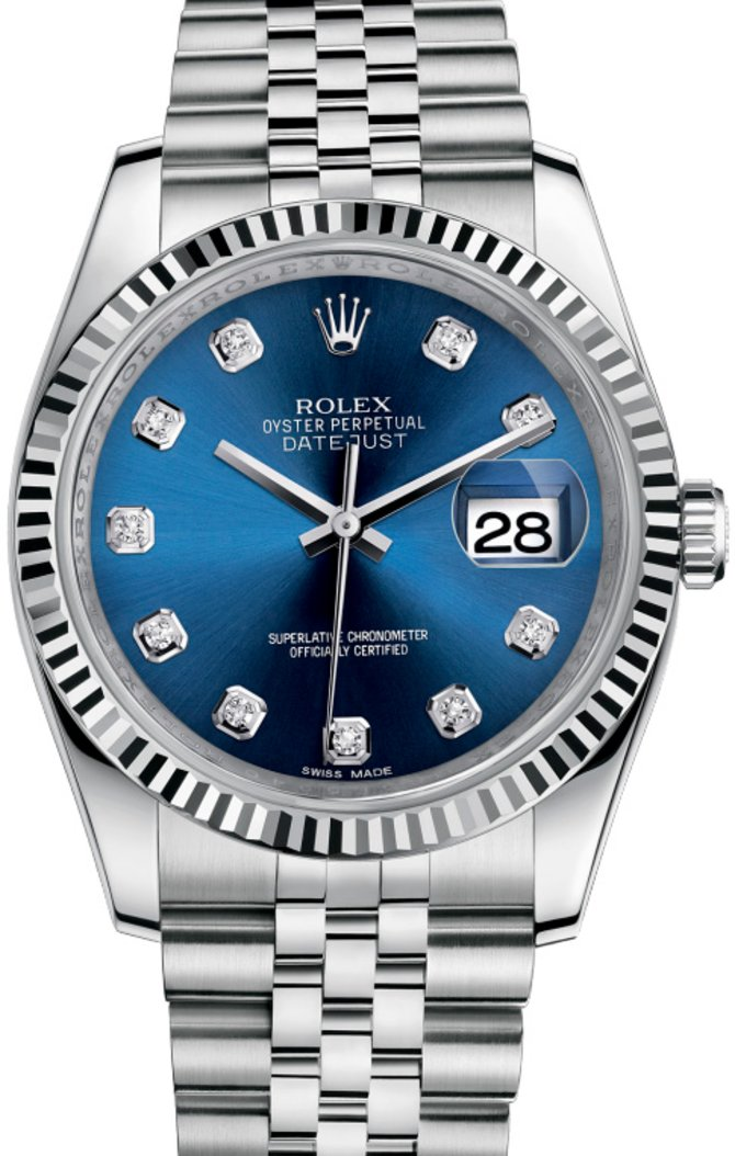 116234 bldj Rolex Steel Datejust