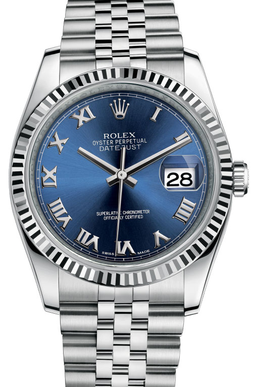 116234 blrj Rolex Steel Datejust