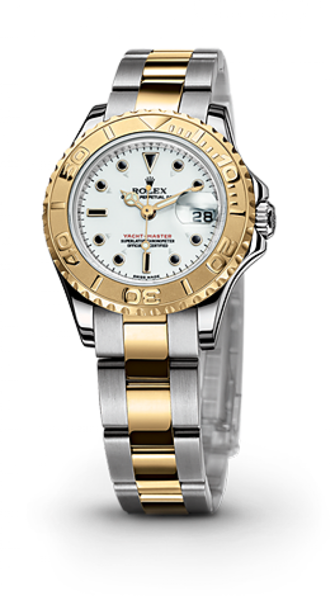 Rolex 169623-White Yacht Master II Yacht-Master 29mm Steel and Yellow Gold - фото 2
