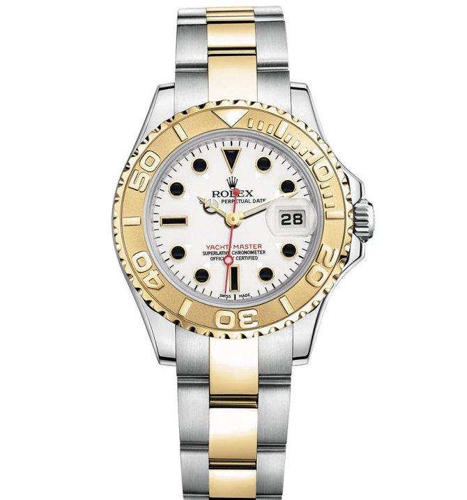 Rolex 169623-White Yacht Master II Yacht-Master 29mm Steel and Yellow Gold - фото 1