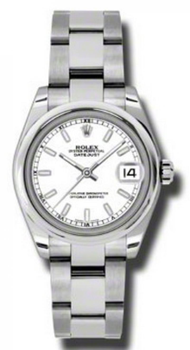 178240 wso Rolex Steel Datejust Ladies