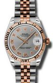 Rolex Datejust Ladies 178271 grj Steel and Everose Gold