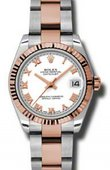 Rolex Datejust Ladies 178271 wro Steel and Everose Gold