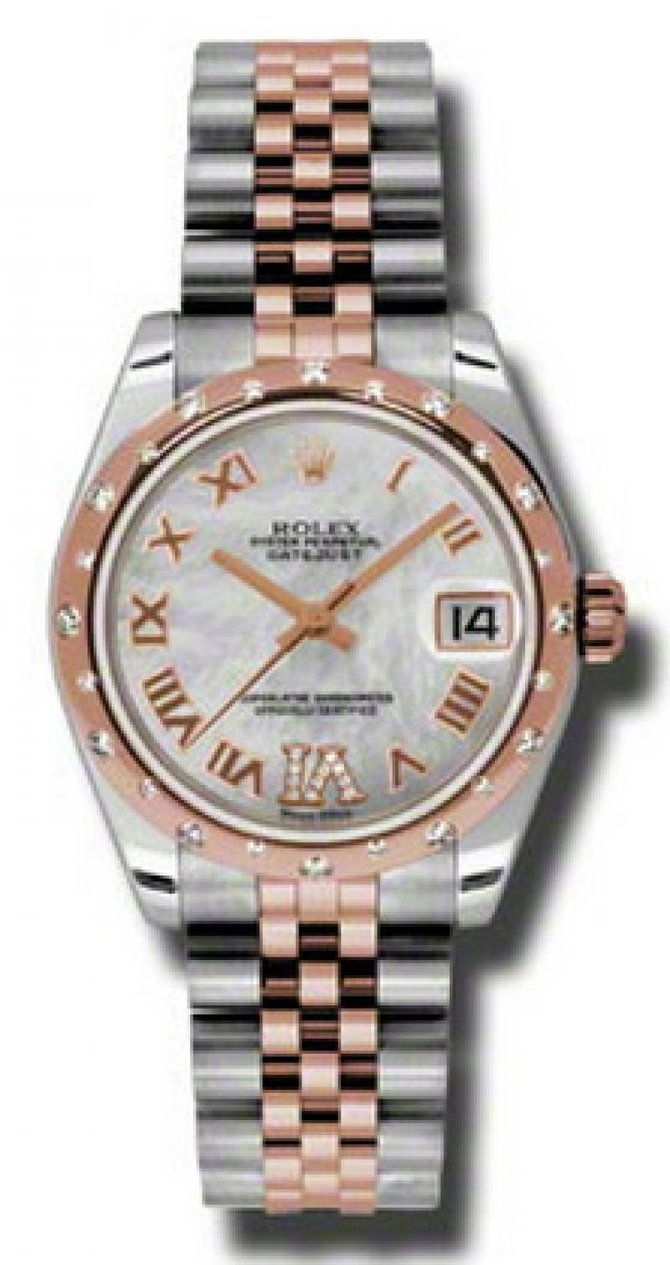 Rolex 178341 mdrj Datejust Ladies Steel and Everose Gold - фото 1