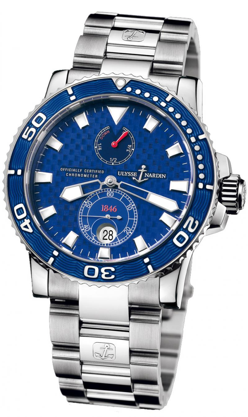 260-32-8M Ulysse Nardin White Gold Limited Edition 500 Maxi Marine Diver