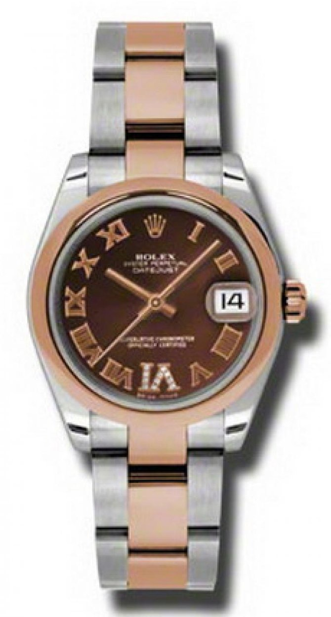 Rolex 178241 chdro Datejust Ladies Steel and Everose Gold - фото 1