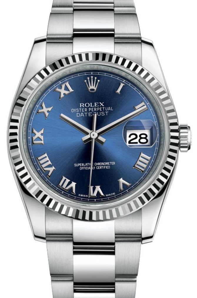 116234 blro Rolex Steel Datejust