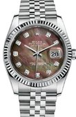Rolex Datejust 116234 dkmdj Steel