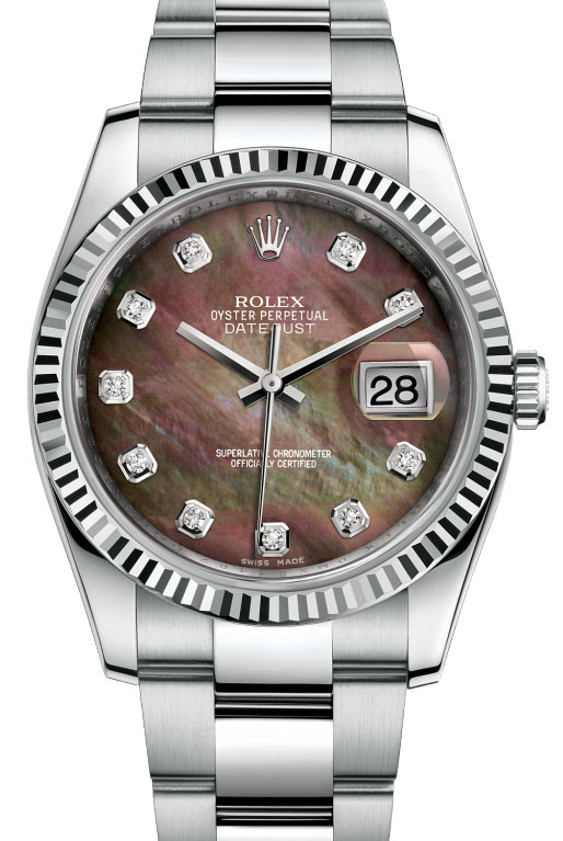 116234 dkmdo Rolex Steel Datejust