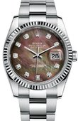 Rolex Datejust 116234 dkmdo Steel