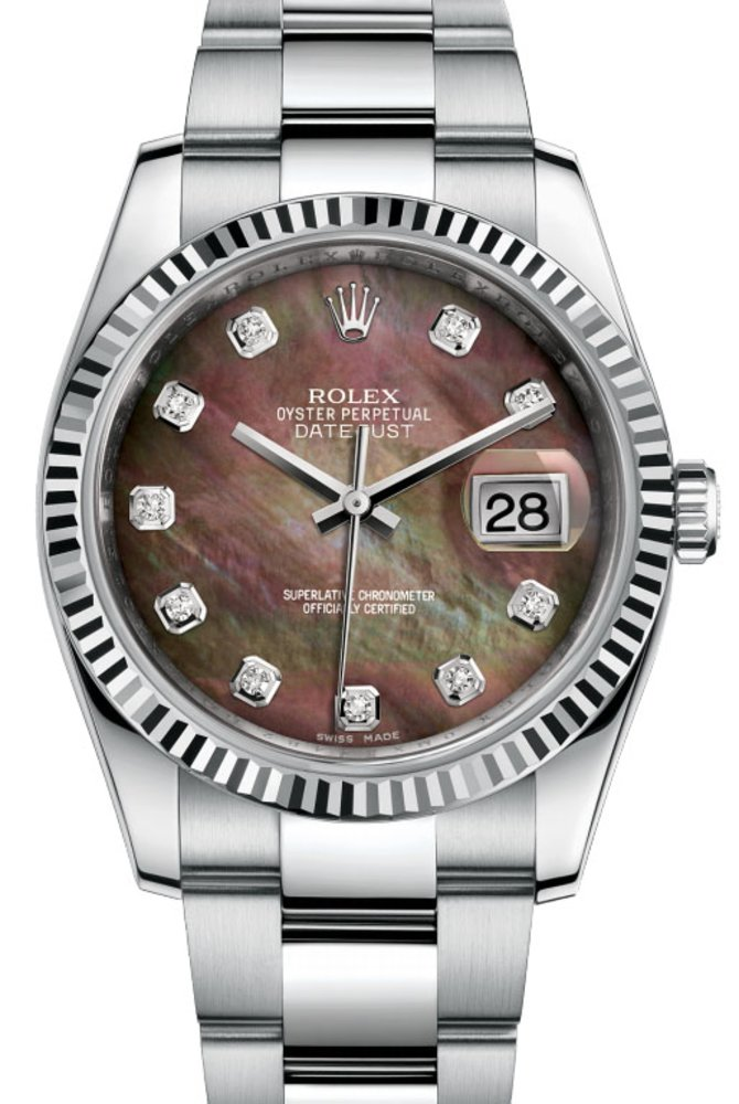 Rolex 116234 dkmdo Datejust Steel