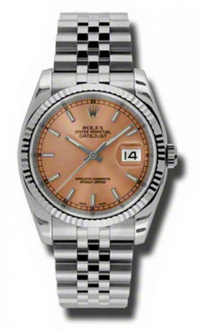 Rolex 116234 pij Datejust Steel - фото 1