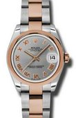 Rolex Datejust Ladies 178241 gro Steel and Everose Gold