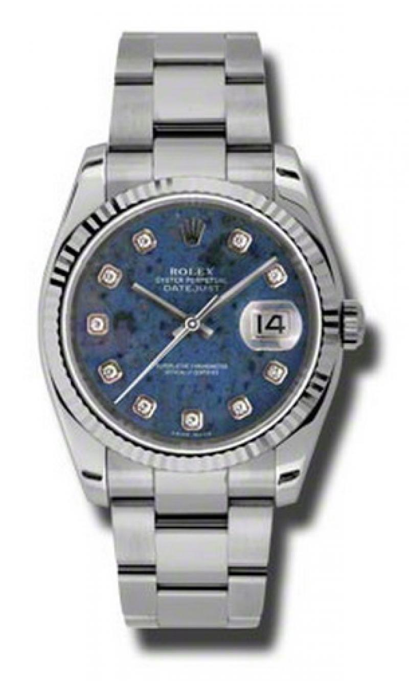 116234 sodo Rolex Steel Datejust