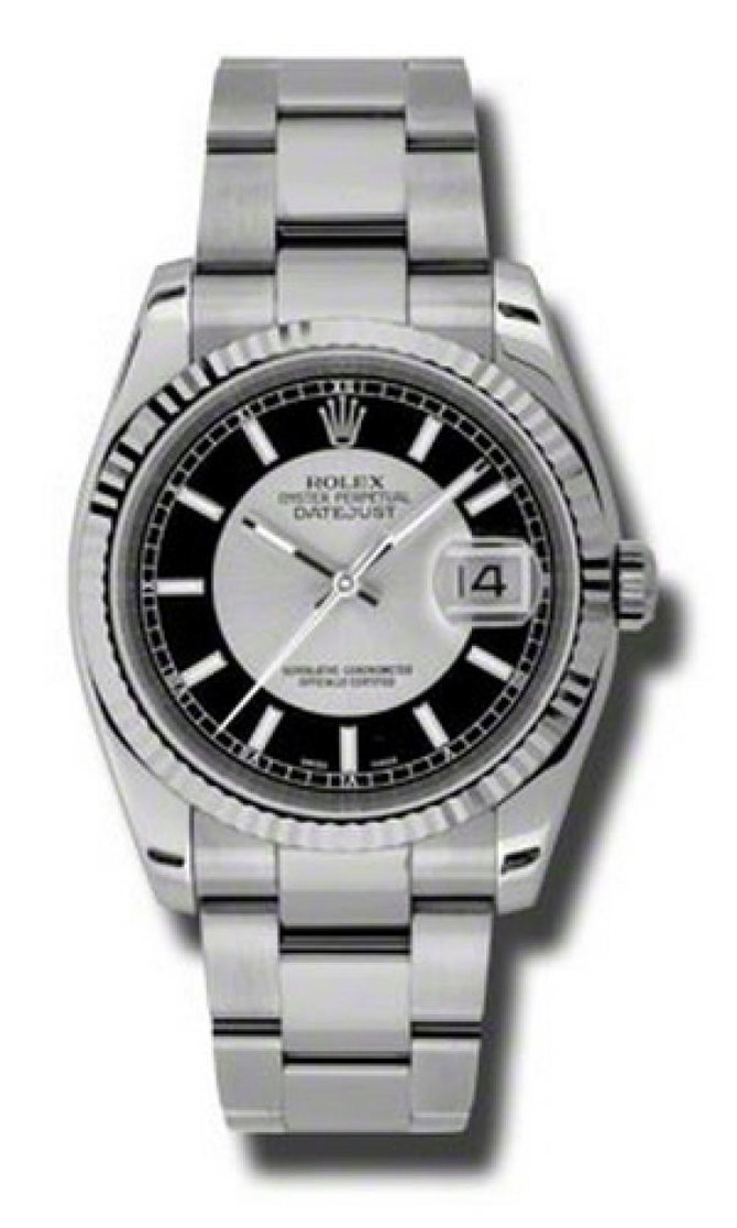 Rolex 116234 stbkso Datejust Steel - фото 1