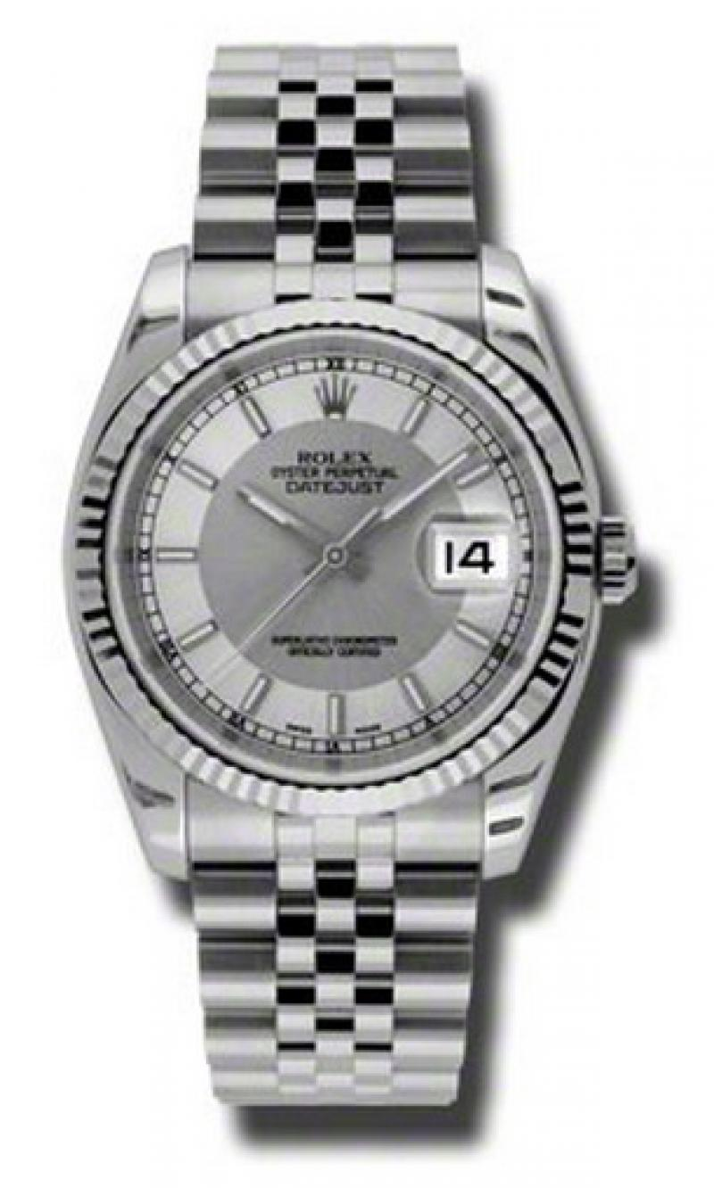 116234 stsisj Rolex Steel Datejust