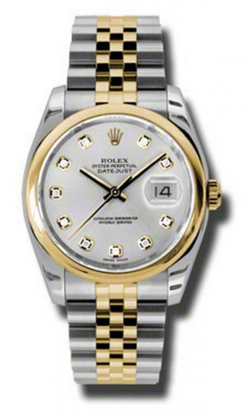 116203 sdj Rolex Steel and Yellow Gold Datejust