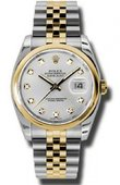 Rolex Datejust 116203 sdj Steel and Yellow Gold