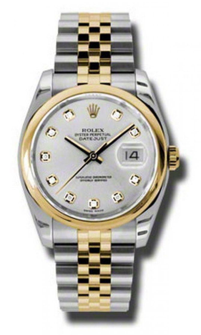 Rolex 116203 sdj Datejust Steel and Yellow Gold - фото 1