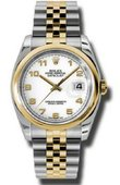 Rolex Datejust 116203 waj Steel and Yellow Gold