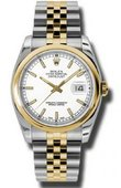 Rolex Datejust 116203 wsj Steel and Yellow Gold