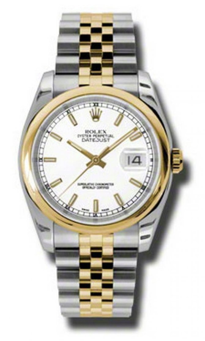 Rolex 116203 wsj Datejust Steel and Yellow Gold - фото 1