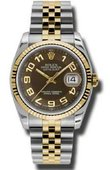 Rolex Datejust 116233 braj Steel and Yellow Gold