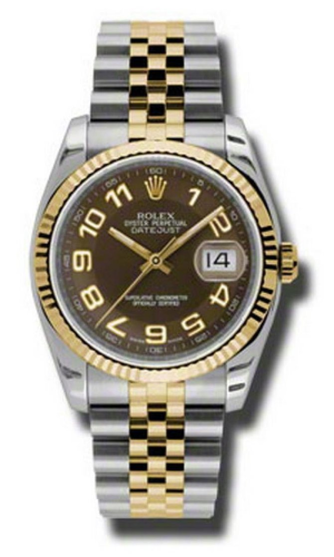 Rolex 116233 braj Datejust Steel and Yellow Gold - фото 1