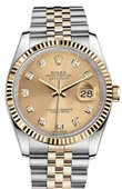 Rolex Datejust 116233 chdj Steel and Yellow Gold