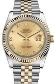 Rolex Datejust 116233 chrj Steel and Yellow Gold