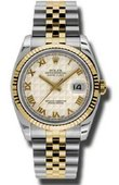 Rolex Datejust 116233 iprj Steel and Yellow Gold
