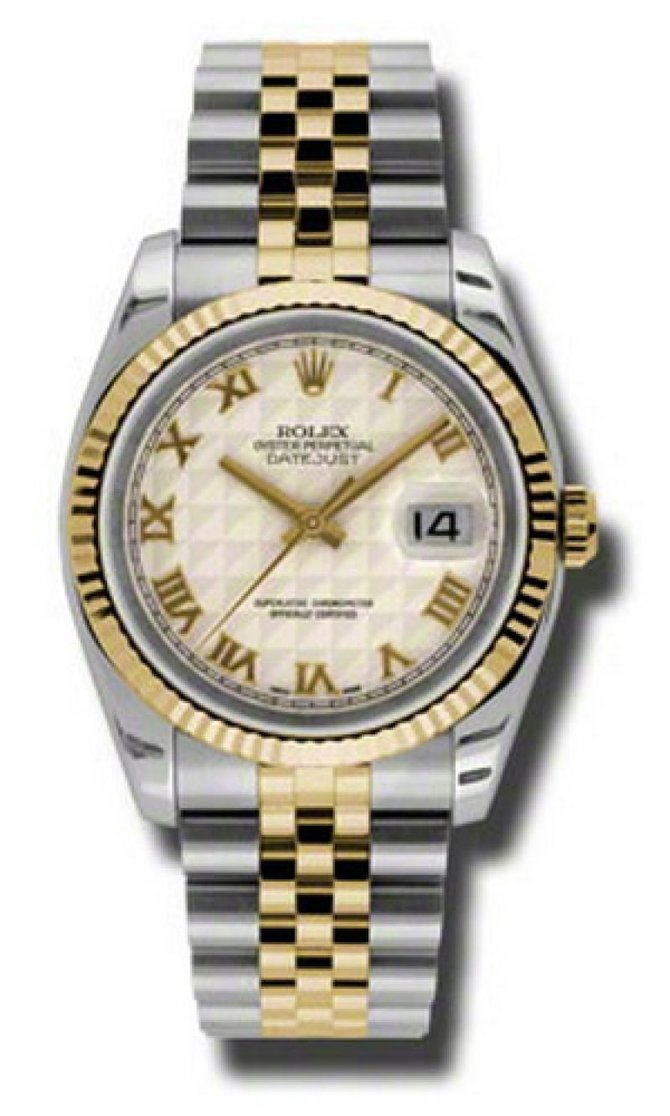 116233 iprj Rolex Steel and Yellow Gold Datejust