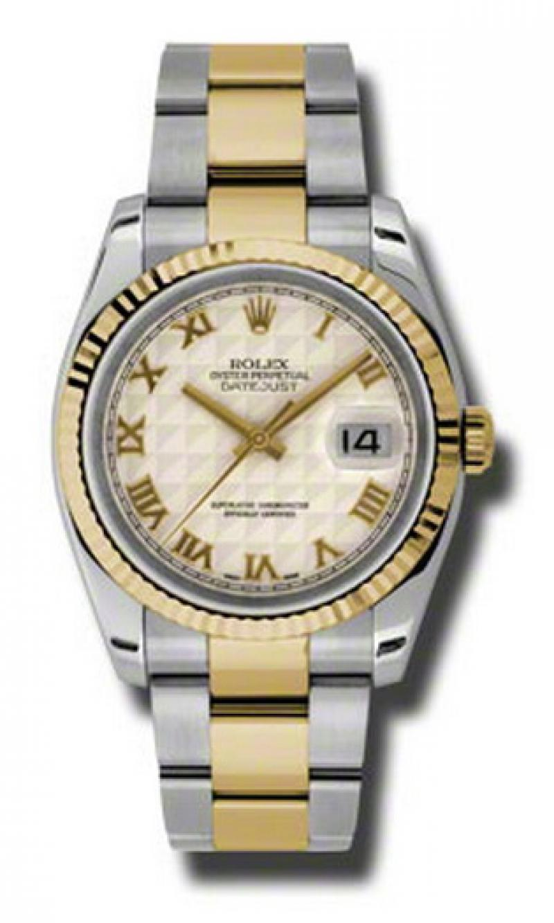 116233 ipro Rolex Steel and Yellow Gold Datejust