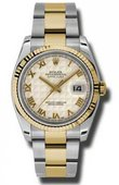 Rolex Datejust 116233 ipro Steel and Yellow Gold