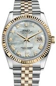 Rolex Datejust 116233 mrj Steel and Yellow Gold