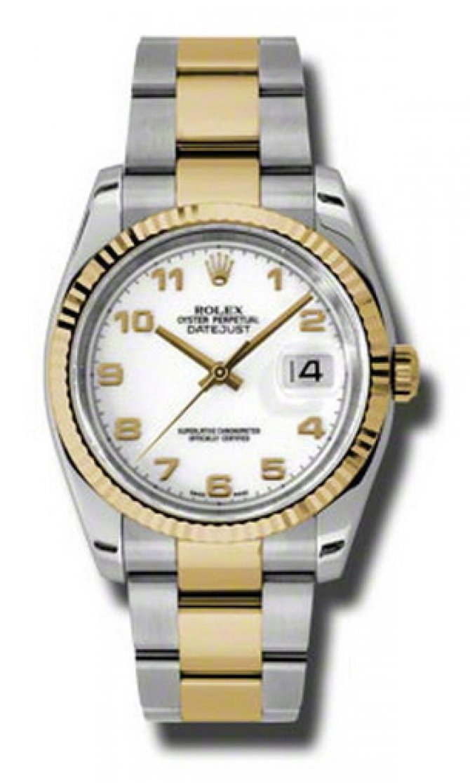 Rolex 116233 wao Datejust Steel and Yellow Gold - фото 1