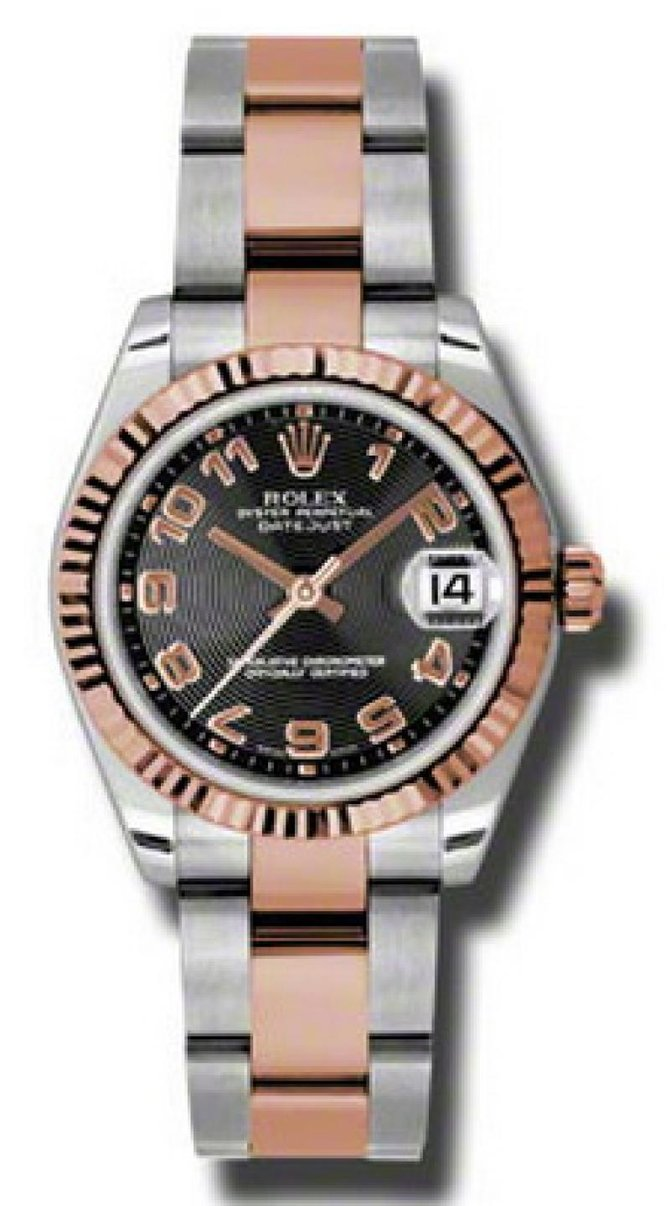 Rolex 178271 bkcao Datejust Ladies Steel and Everose Gold - фото 1