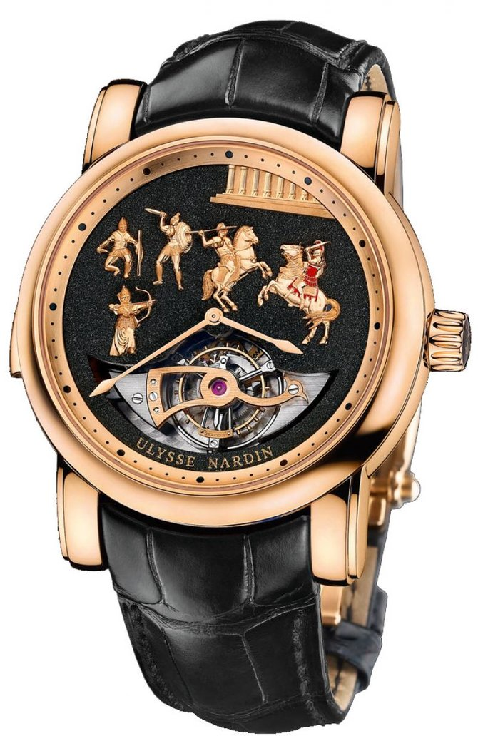 Ulysse Nardin 786-90 Specialities Alexander the Great LImited Edition 50 - фото 1