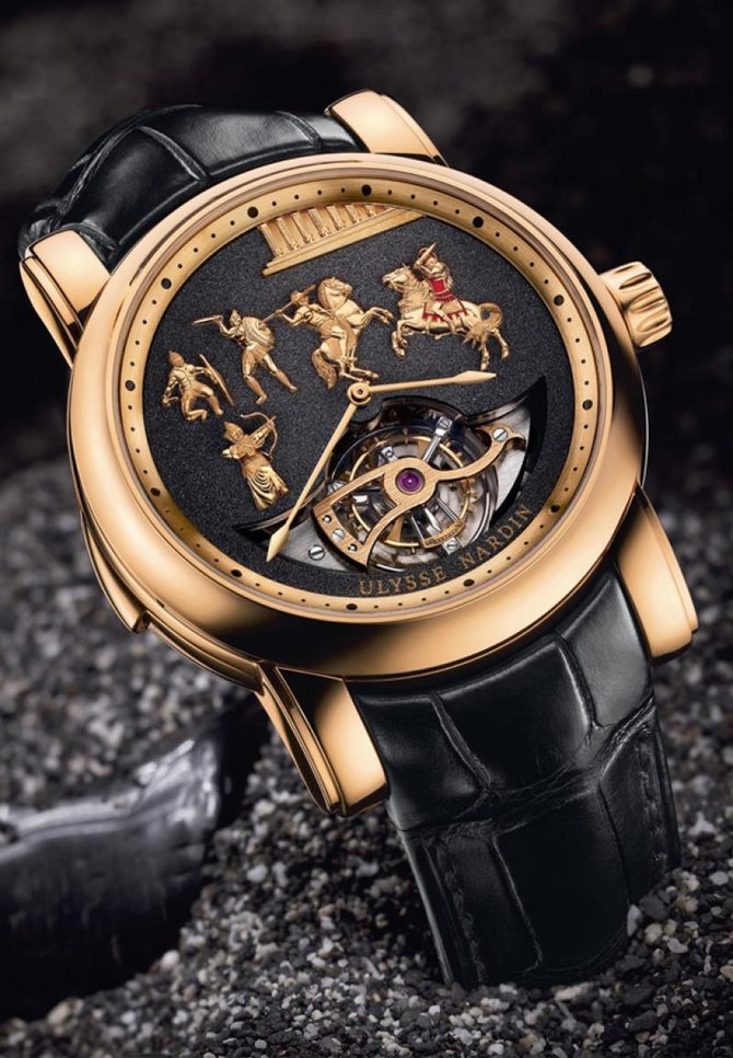 Ulysse Nardin 786-90 Specialities Alexander the Great LImited Edition 50 - фото 2