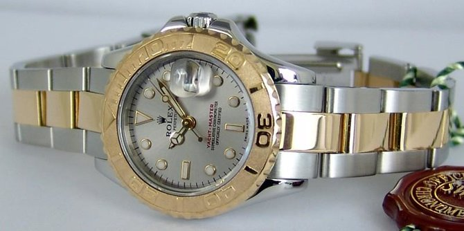 Rolex 169623-Grey Yacht Master II Yacht-Master 29mm Steel and Yellow Gold - фото 4