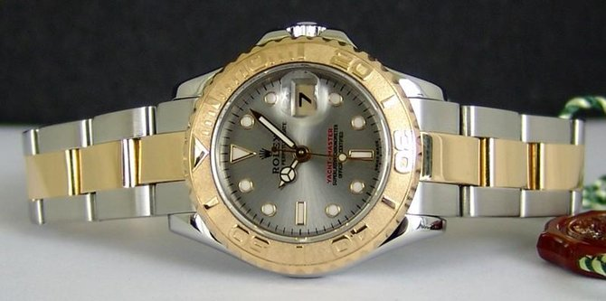 Rolex 169623-Grey Yacht Master II Yacht-Master 29mm Steel and Yellow Gold - фото 5