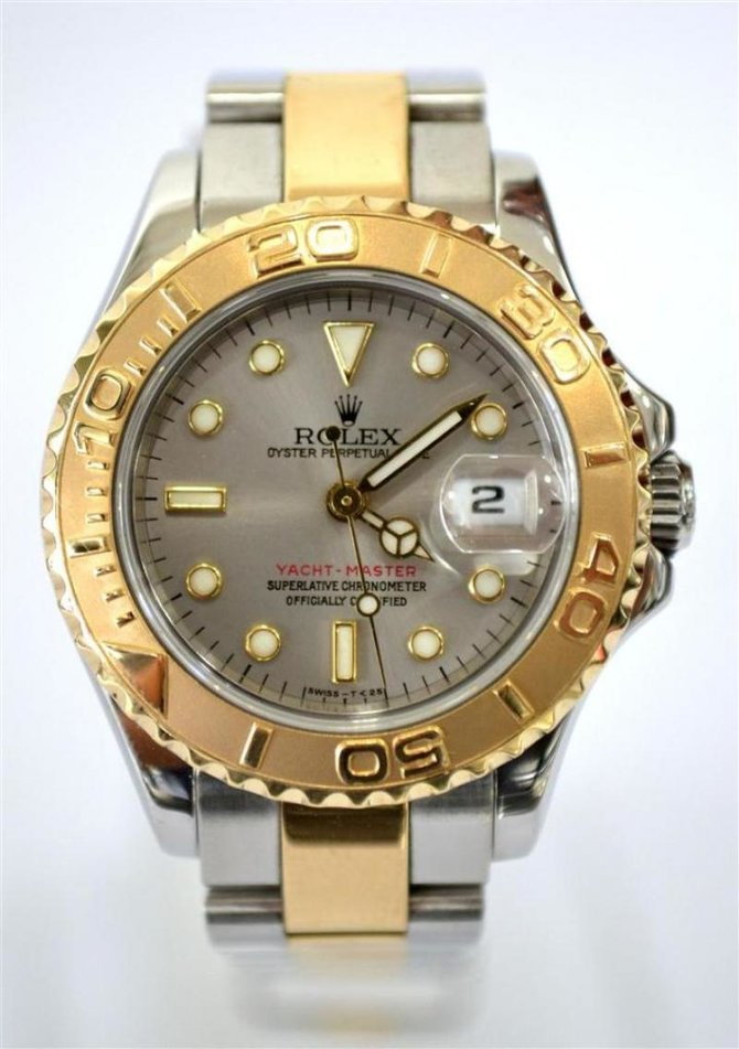 Rolex 169623-Grey Yacht Master II Yacht-Master 29mm Steel and Yellow Gold - фото 9