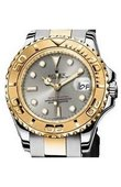 Rolex Yacht Master II 169623-Grey Yacht-Master 29mm Steel and Yellow Gold