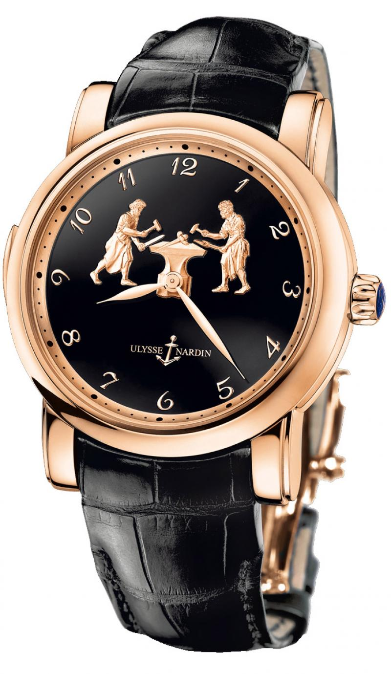 716-61/E2 Ulysse Nardin Forgerons Minute Repeater Limited Edition 50 Specialities