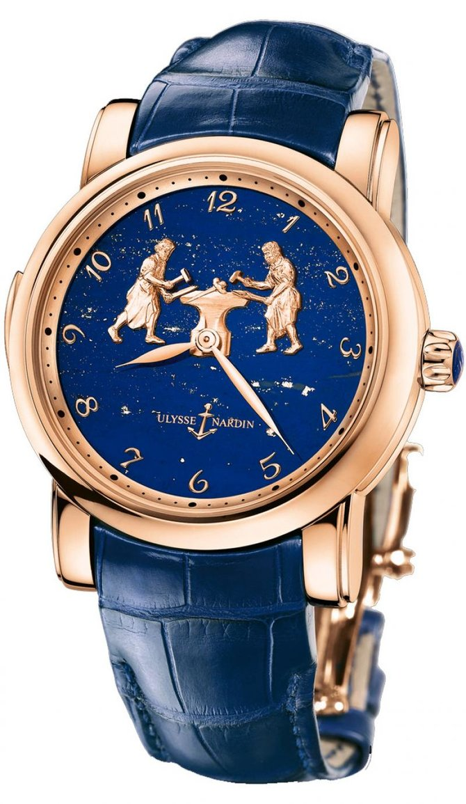 Ulysse Nardin 716-61/E3 Specialities Forgerons Minute Repeater Limited Edition 50