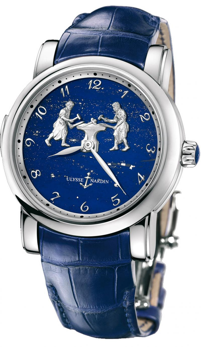719-61/E3 Ulysse Nardin Forgerons Minute Repeater Limited Edition 50 Specialities