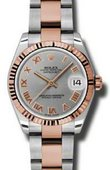 Rolex Datejust Ladies 178271 gro Steel and Everose Gold