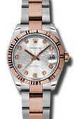Rolex Datejust Ladies 178271 sjdo Steel and Everose Gold