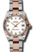 Rolex Datejust Ladies 178271 wdo Steel and Everose Gold